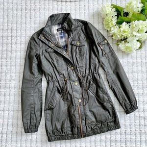 Blanc Noir Gray Utility Jacket